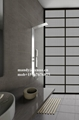 concealed shower panel with 4 functions 1
