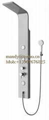 cheap stainless steel shower panel