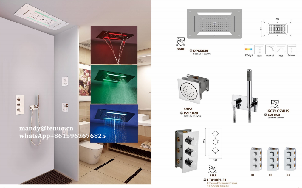 Shower spa system for independent house - LTA1001/DPG5030 - COFE ...
