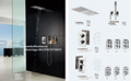 Concealed shower set for hotel project