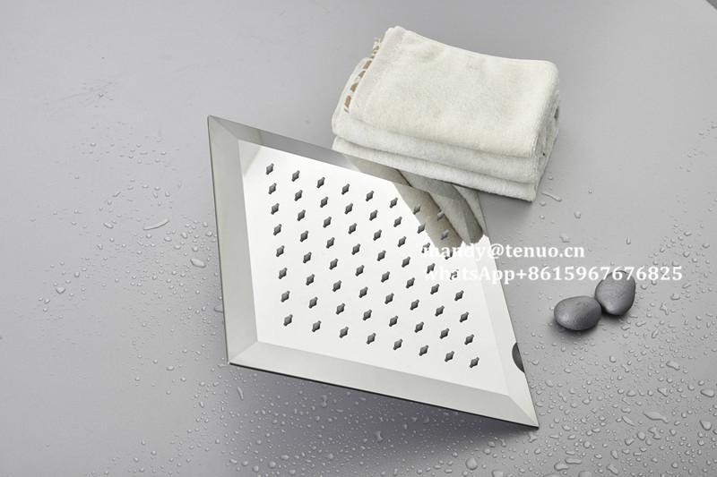 Stainless steel ultrathin shower head 1