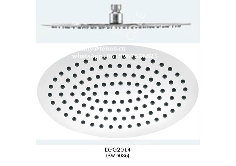 Stainless steel ultrathin shower head 2