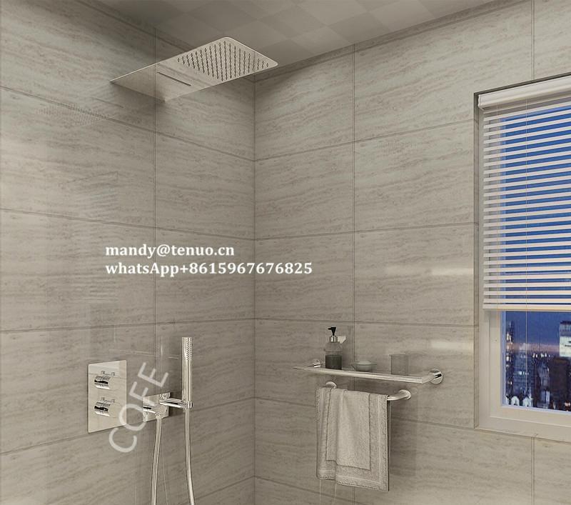 Concealed shower set 1