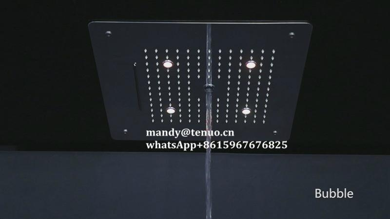 Concealed shower head with multi function 4
