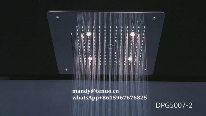 Concealed shower head with multi function 5