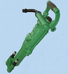 hand hold pneumatic rock drill