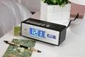 calendar alarm clock with USB charging