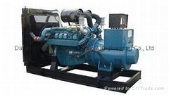 Low fuel consumption 160kw diesel generator set Daewoo brand