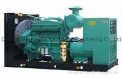 312kVA Doosan Low Consumption Diesel Generator Set