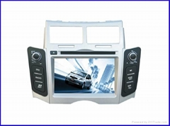 car multimedia system toyota yaris car dvd player/car navigation system