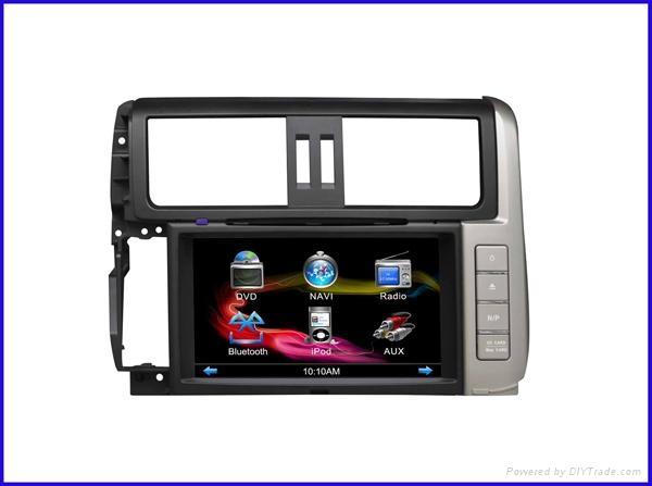 TOYOTA 2012 prado car DVD player/car dvd player gps navigation with  1