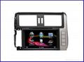 TOYOTA 2012 prado car DVD player/car dvd