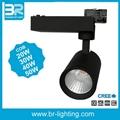 40W LED Track Light COB Tracklight Spotlight Ra90 1