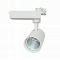 40W LED Track Light COB Tracklight Spotlight Ra90 2
