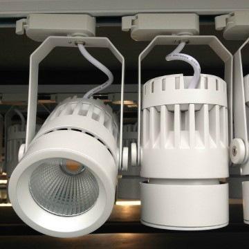 40W LED Track light COB Tracklight Cylinder spotlight 1