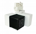 20W 30W LED Track light Cube Tracklight Horizontal Gear box  3