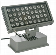 36W Vivid RGB LED Wallwasher DMX512 control mode for Facade Lighting