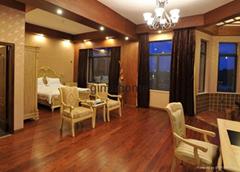 multilayer oak engineered wood flooring indoor