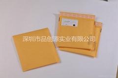Yellow buffering kraft paper Courier bags