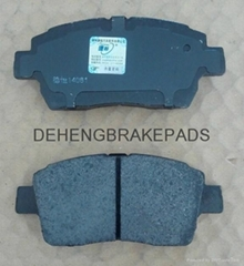Manufacturers supply TOYOTA brake pads