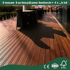 20mm Thick Outdoor Cheap Bamboo Flooring Price for Solid Strand Woven Bamboo Flo