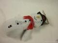 Xmas Plush Snowman dog toy, pet toy