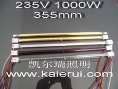 卤素红外线电热灯管