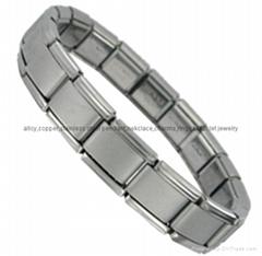 9mm DIY custom Italian stainless steel Nomination elastic bracelet