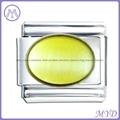 yellow birthstone Italian charms