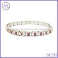 hand enameled Glitter alphabet letter Italian charms  3