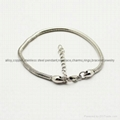 stainless steel snake bracelet fit for