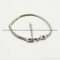stainless steel snake bracelet fit