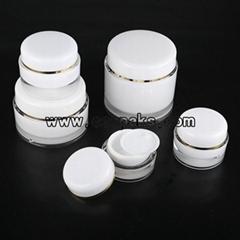 Acrylic Cream Jar.cosmetics container.cosmetics cream empty jar