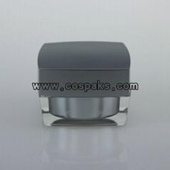 15g 30g 50g acrylic cream jar and square