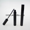 10ml black empty mascara tube with brush, 10ml black cosmetic packaging 5