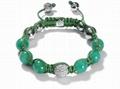 fashion jewelry nature stone shamballa
