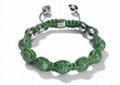 New Design Crystal Beads Shamballa