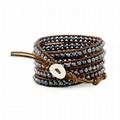 Popular handmade beaded pearl bracelets
