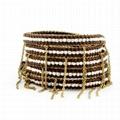Jewelry Wrap Chain Multi Bracelets with