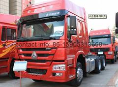 Sinotruk HOWO Diesel Engine 6*4 Heavy Duty Tractor Truck