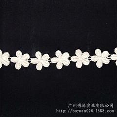 女装婚纱童装朵花条码机绣
