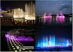 2015 fashionable water dancing musical fountain project