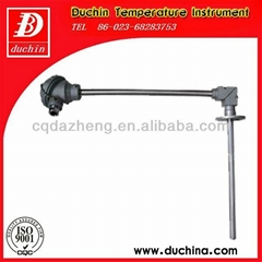 Right Angle bend thermocouple bearing high temperature with high quality
