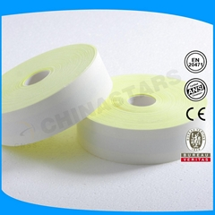 en471 fr reflective tape 100% cotton silver 2.5cm reflective tape