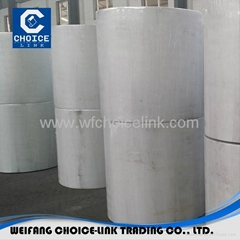 Needle punched polyester mat