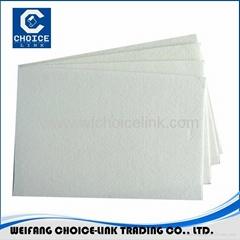 Spun bond polyester mat