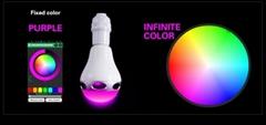 2017 newest Smart Colorful LED Bluetooth speaker