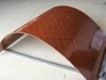 Flexional doulbe-faced film bamboo