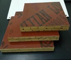 雙面覆膜竹膠板