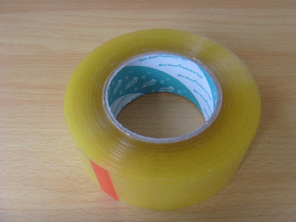 BOPP Adhesive Tape with LOGO Printed On Paper Core  1